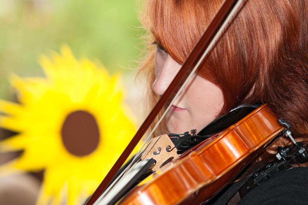 Porträtfotografie: Violinistin | Foto: Dieter Eikenberg, imprints