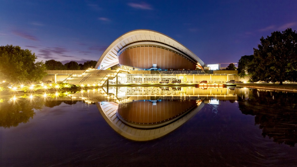 Architekturfotografie: Berlin - Haus der Kulturen | Fotograf Dieter Eikenberg