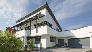 Architekturfotografie: Außenansicht Immobilie   Foto: Dieter Eikenberg, imprints