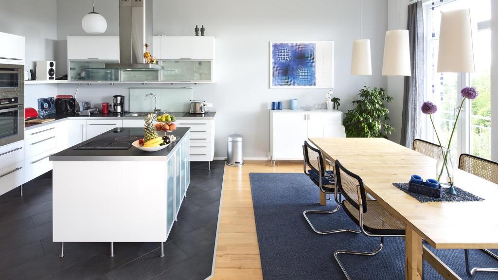 Architekturfotografie, Innenarchitektur: Küche | Fotograf Dieter Eikenberg