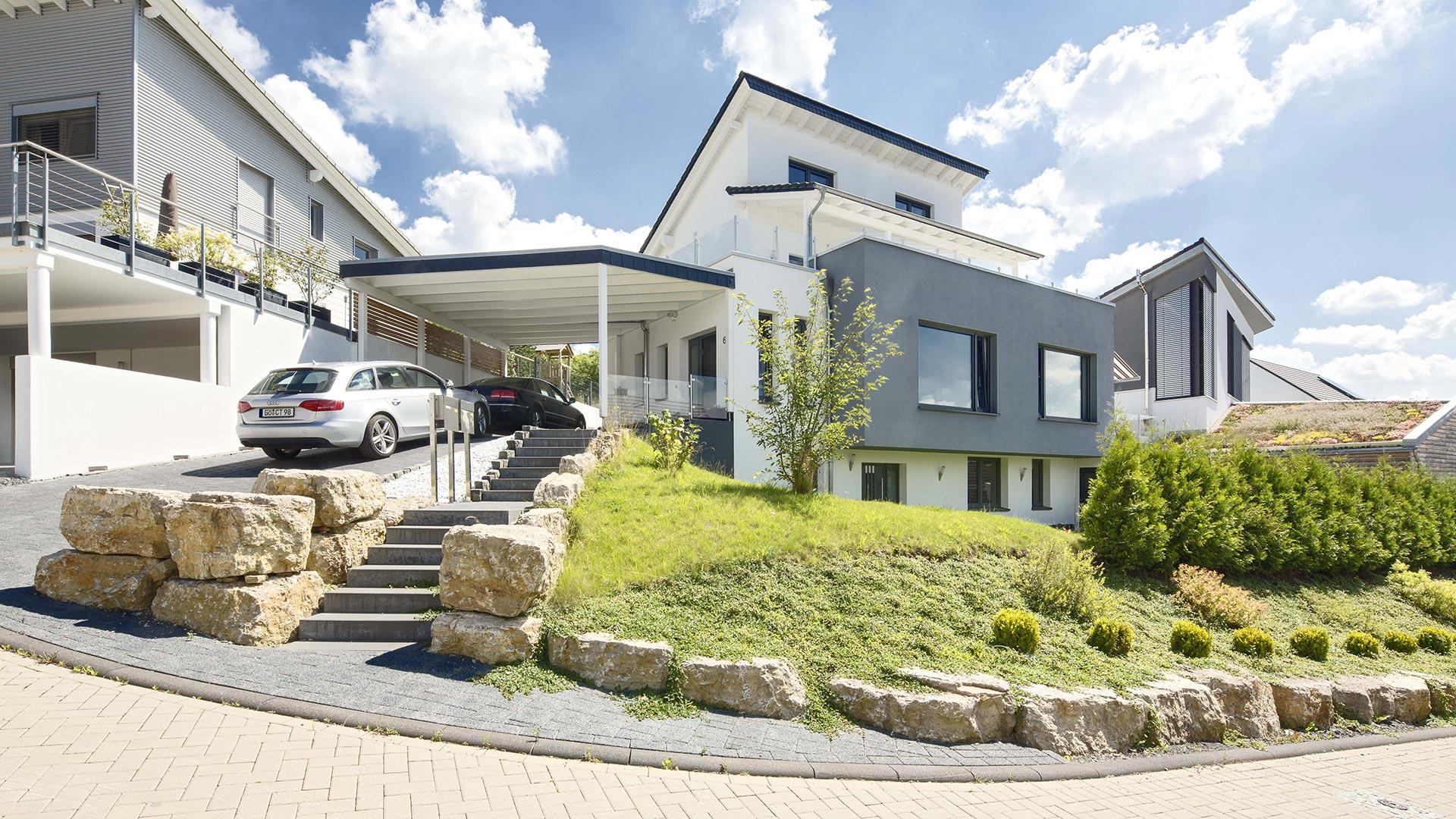 Architekturfotografie: Haus am Berg | Foto: Dieter Eikenberg, imprints