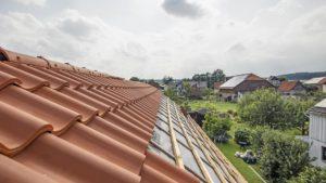 Architekturfotografie: Dach, Teileindeckung   Foto: Dieter Eikenberg, imprints
