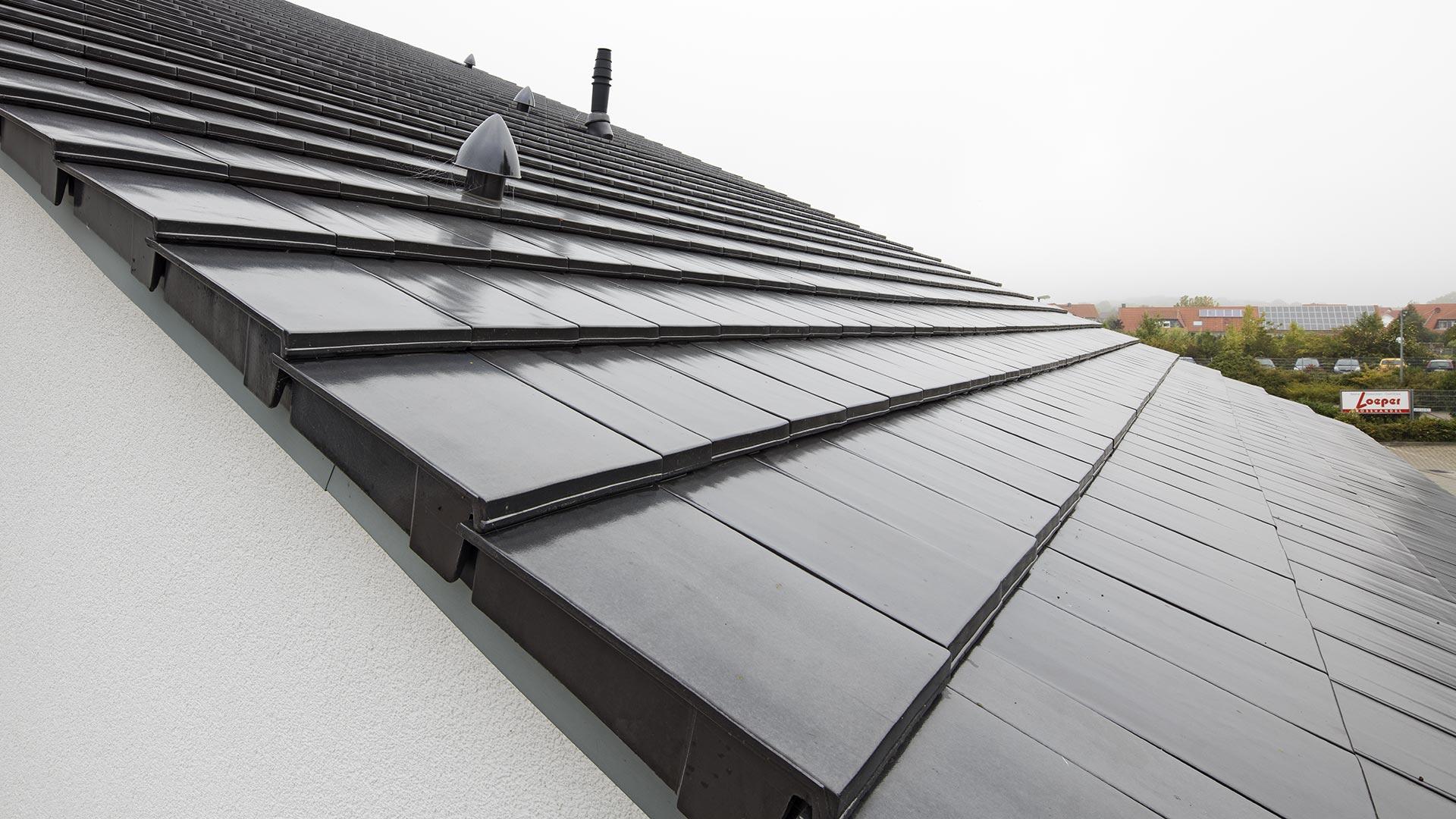 Architekturfotografie: Blick aufs Dach | Foto: Dieter Eikenberg, imprints