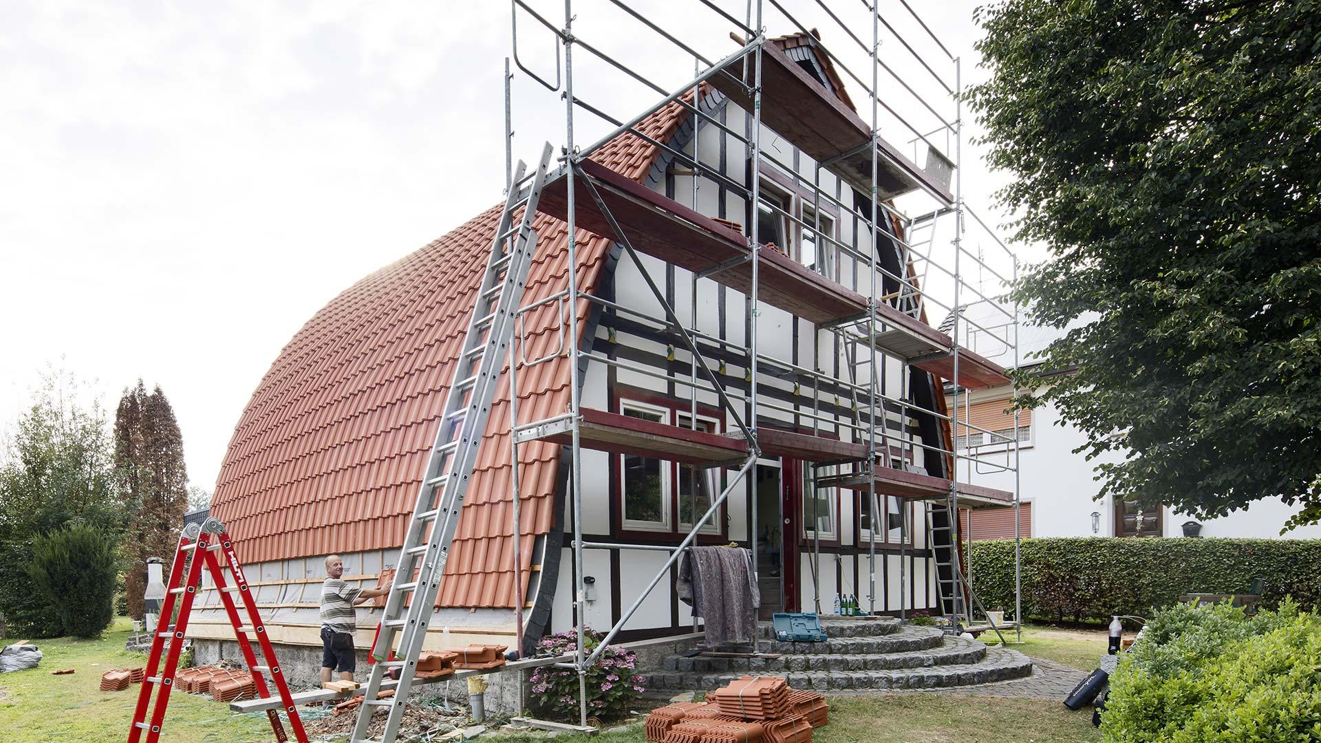 Architekturfotografie: Dacheindeckung | Foto: Dieter Eikenberg, imprints