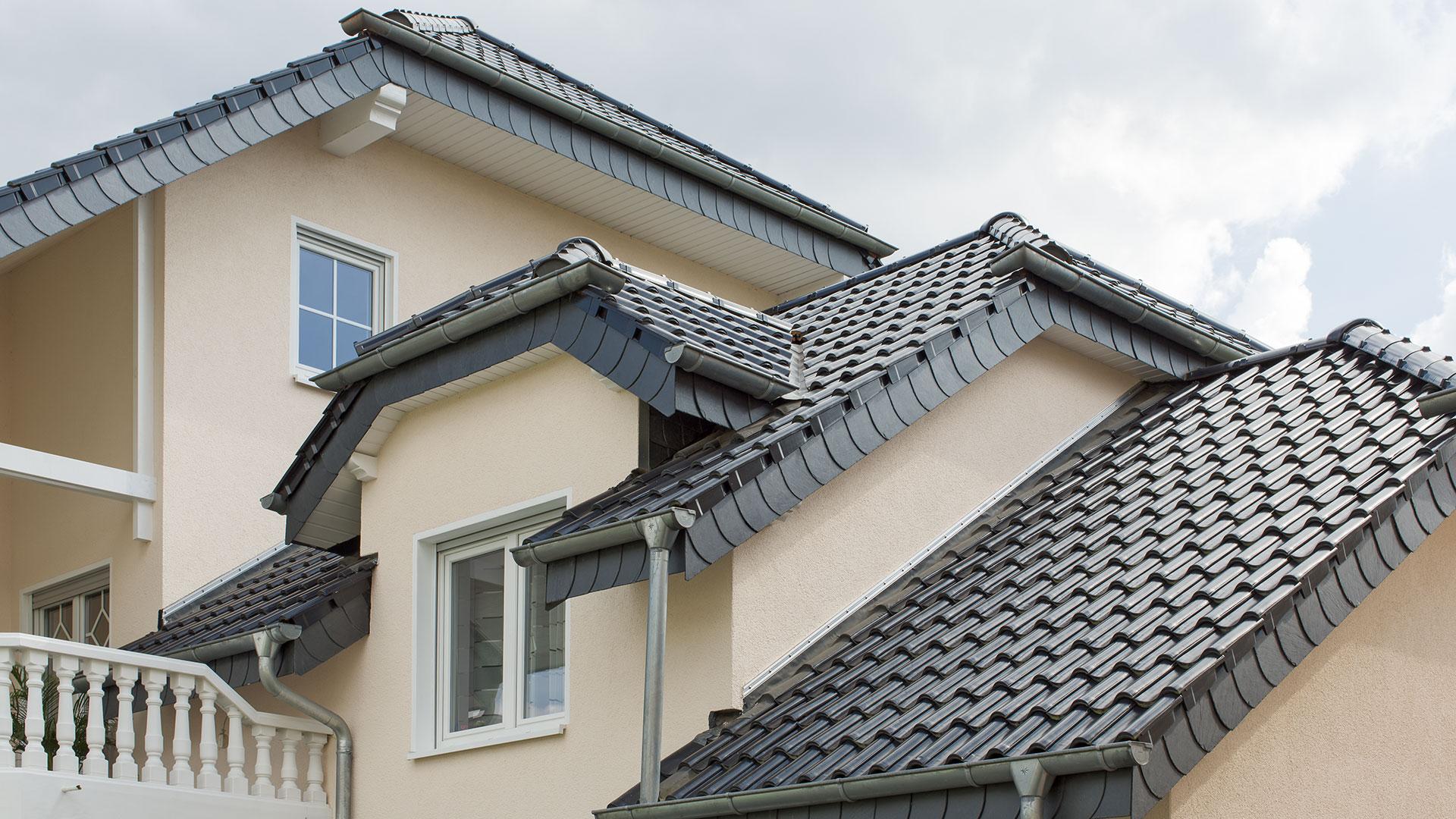 Architekturfotografie: Dachkomposition | Foto: Dieter Eikenberg, imprints