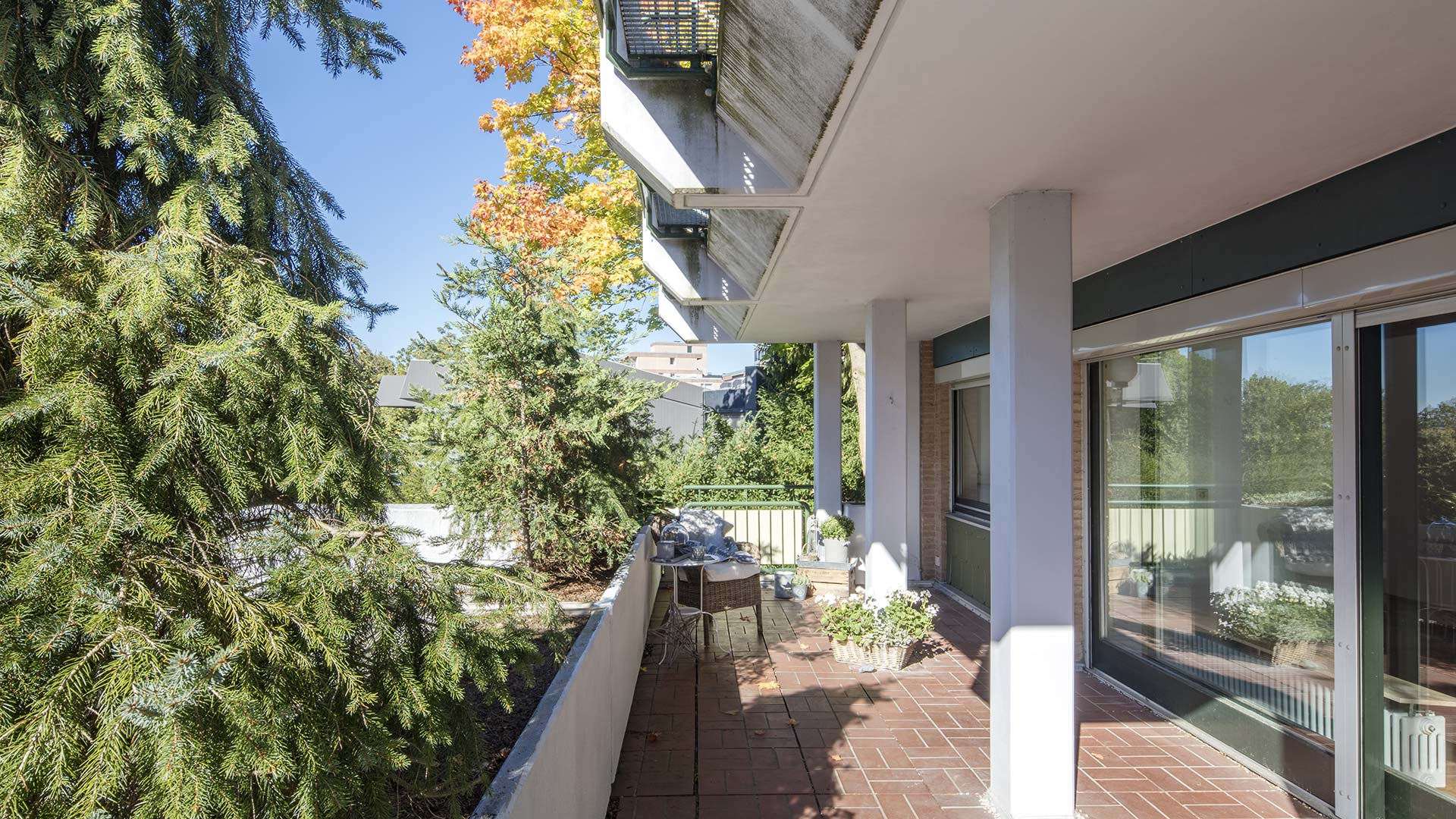 Architekturfotografie: Balkon | Foto: Dieter Eikenberg, imprints