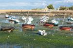 Landschaftsfotografie, Regionalporträt: Boote bei Ebbe im Hafen von Barfleur, Normandie | Foto: Dieter Eikenberg, imprints