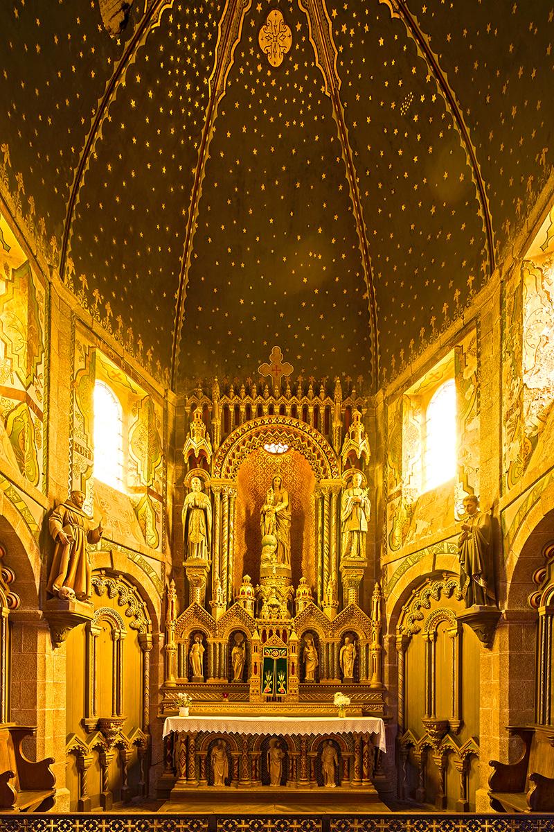 Architekturfotografie, Regionalporträt: Kirche, Normandie | Foto: Dieter Eikenberg, imprints