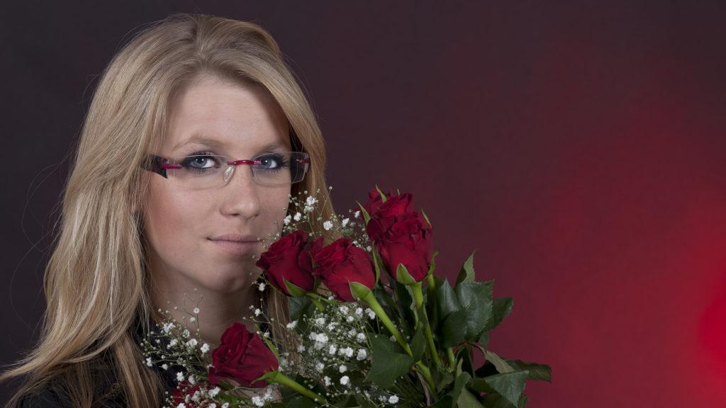 Porträtfotografie: Rote-Rosen-Stimmung | Foto: Dieter Eikenberg, imprints