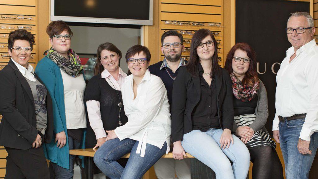 Porträtfotografie: Optiker-Team | Foto: Dieter Eikenberg, imprints