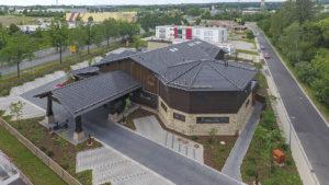 Architekturfotografie, Drohne: Dach Steak-Haus   Foto: Dieter Eikenberg, imprints