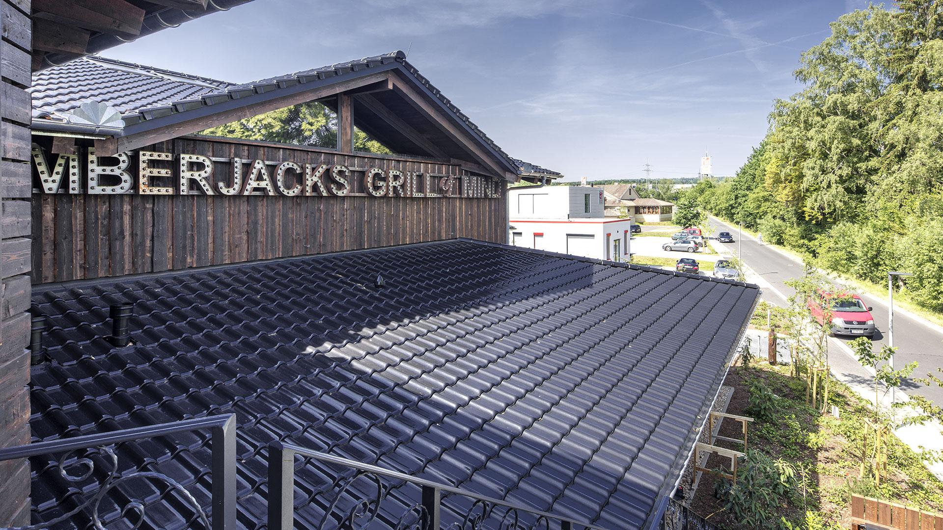 Architekturfotografie: Dach Steak-Haus | Foto: Dieter Eikenberg, imprints