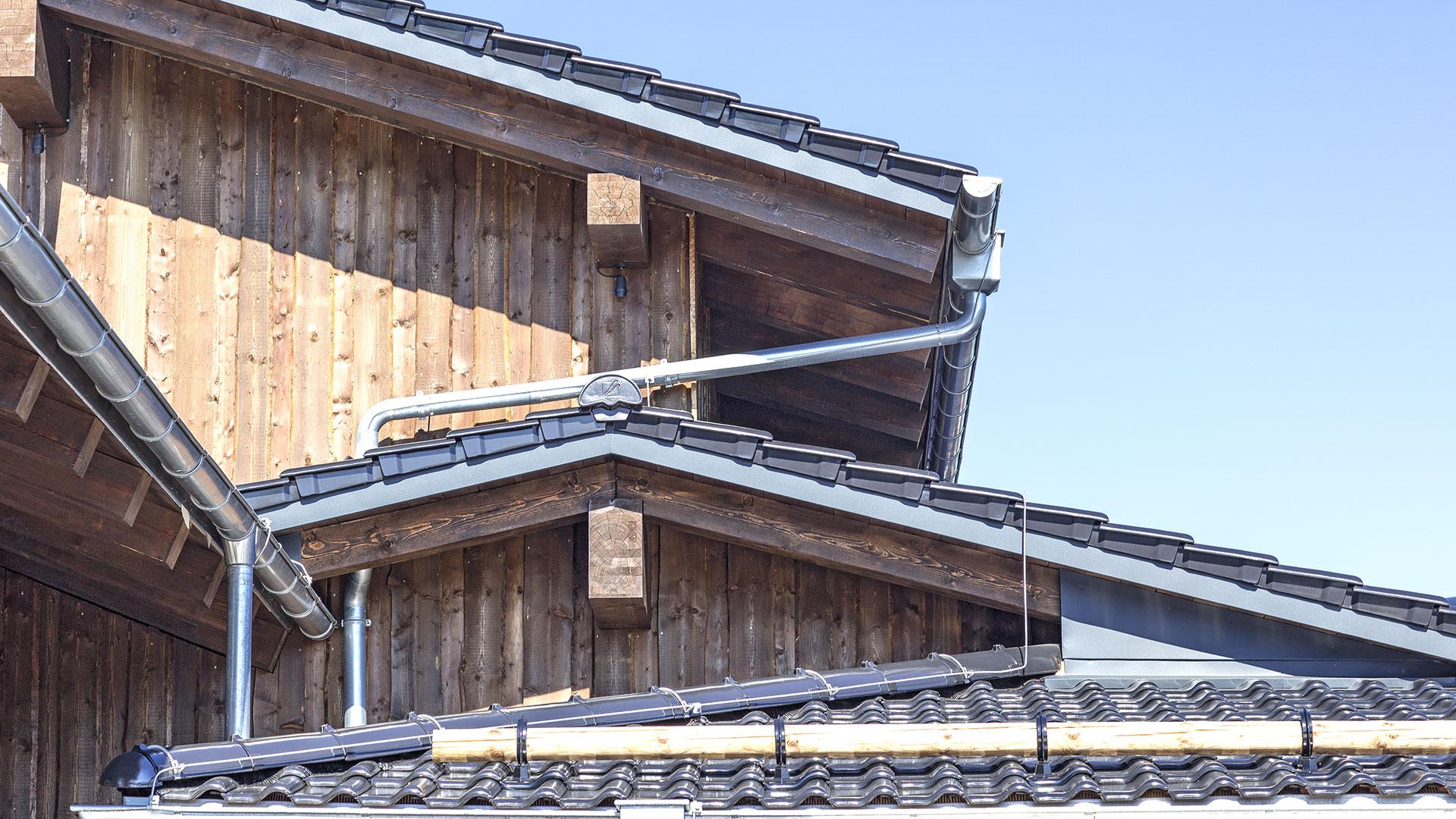 Architekturfotografie: Teilansicht Dach | Foto: Dieter Eikenberg, imprints
