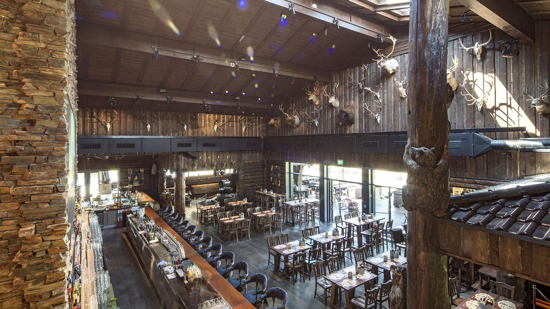 Architekturfotografie: Innenraum Gaststätte | Foto: Dieter Eikenberg, imprints