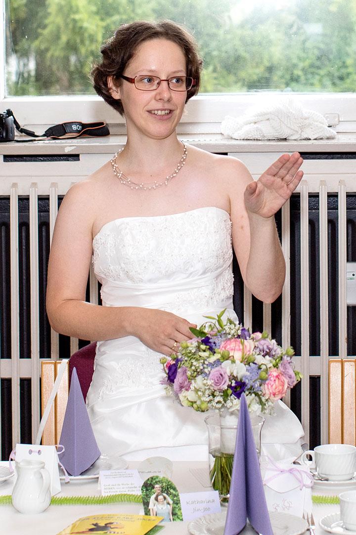 Hochzeitsfotografie: Brautrede | Foto: Dieter Eikenberg, imprints