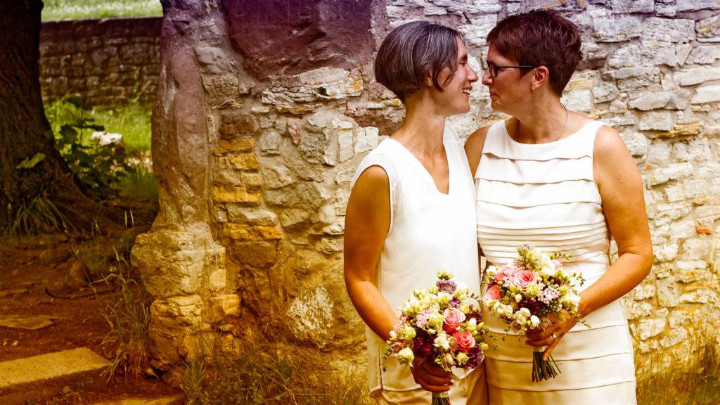 Hochzeitsfotografie: Gleichgeschlechtliches Brautpaar | Foto: Dieter Eikenberg, imprints