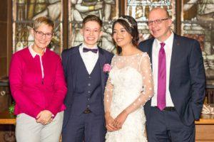 Hochzeitsfotografie: Hochzeitspaar, Familie | Foto: Dieter Eikenberg, imprints