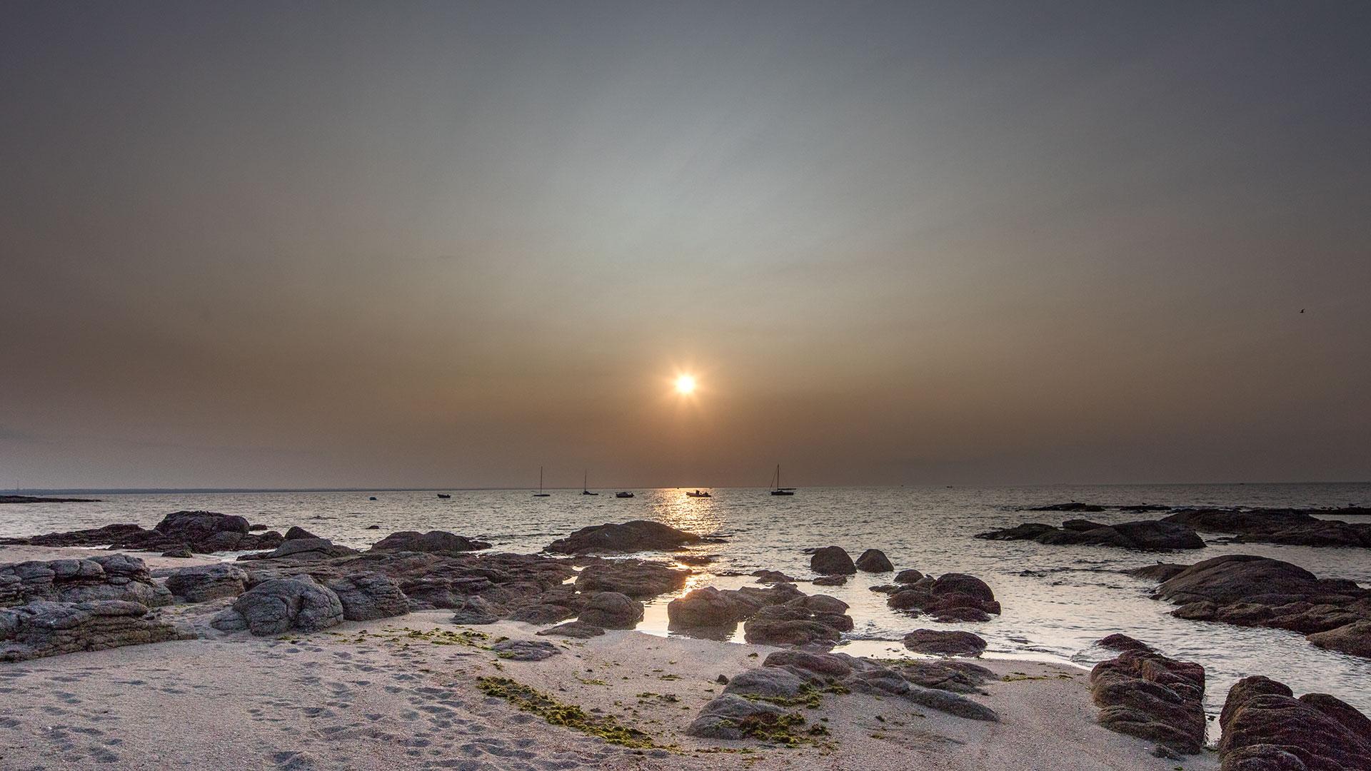 Loctudy Sonnenaufgang