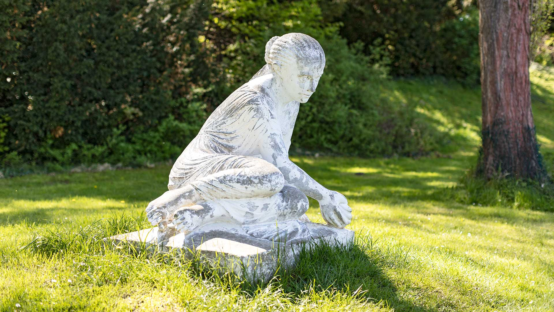 Landschaftsfotografie, Regionalporträt: Wurlitzer Park – Skulptur | Foto: Dieter Eikenberg, imprints
