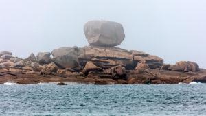 Landschaftsfotografie: Côte de Granit Rose – Bretonischer Nebel - Würfel | Foto: Dieter Eikenberg, imprints