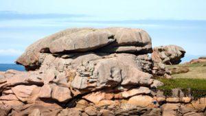 Landschaftsfotografie: Côte de Granit Rose – Granit-Rose-Schildkröte | Foto: Dieter Eikenberg, imprints