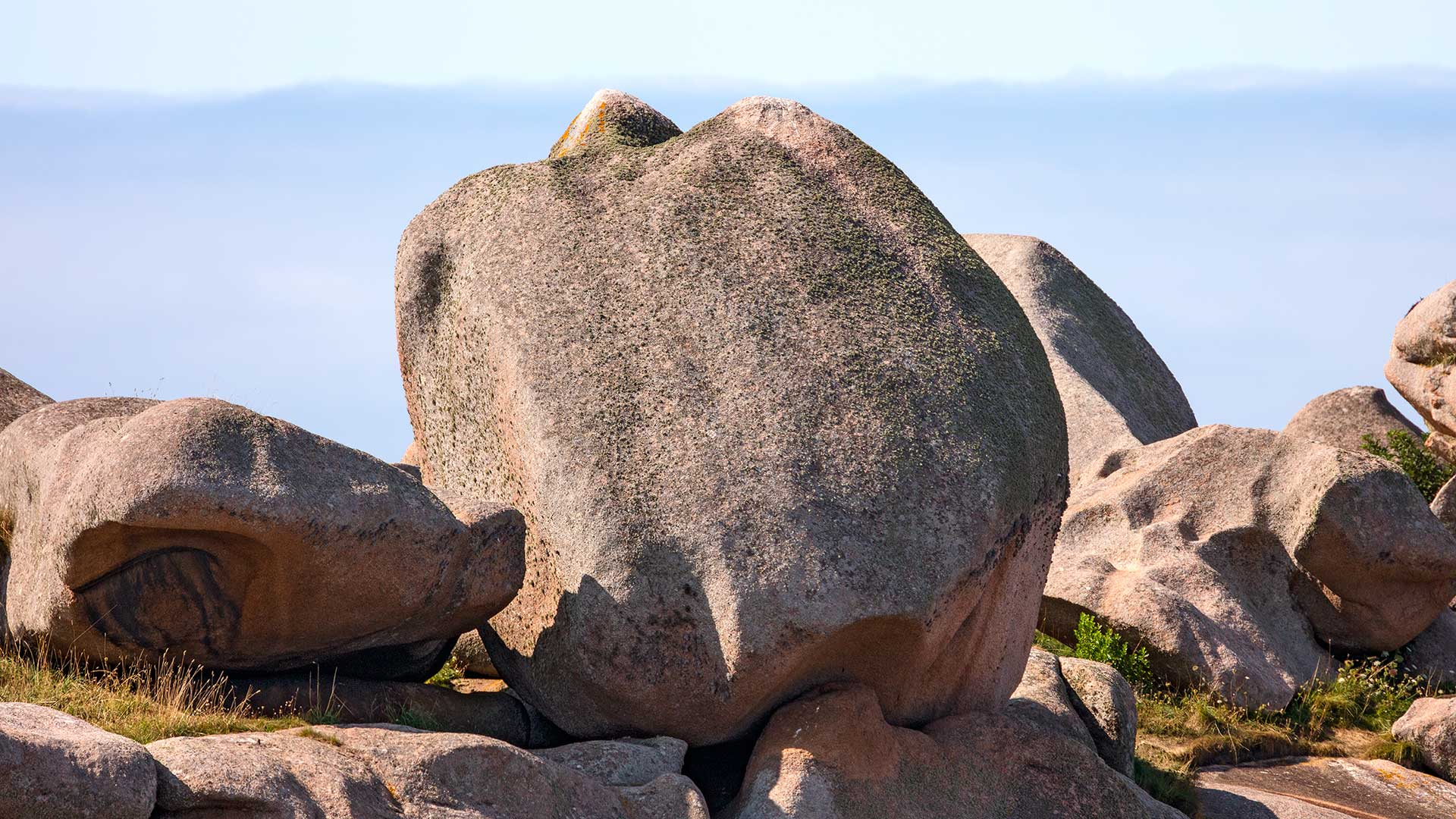 Landschaftsfotografie: Côte de Granit Rose – Granit-Rose-Paprika | Foto: Dieter Eikenberg, imprints