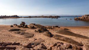 Landschaftsfotografie: Côte de Granit Rose – Halbinsel Renote – Strand | Foto: Dieter Eikenberg, imprints