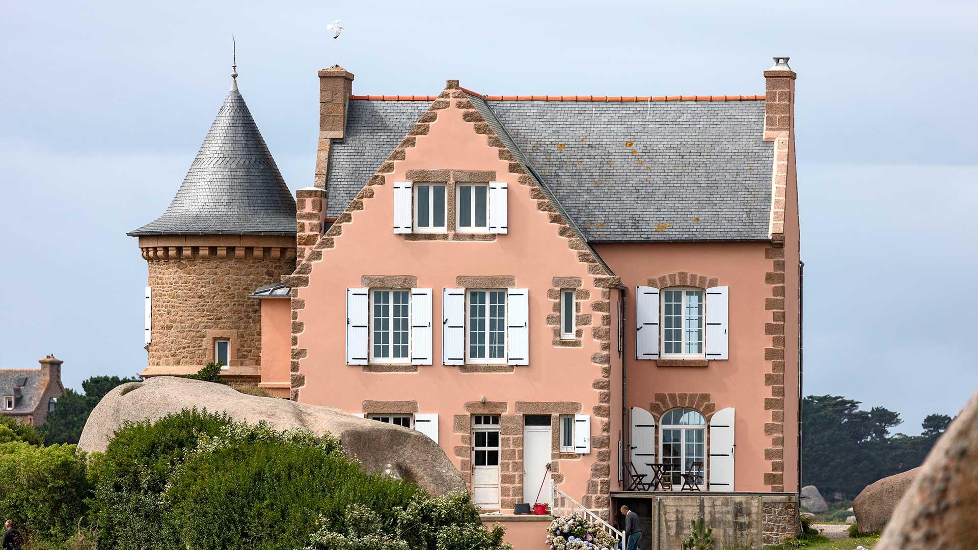 Landschaftsfotografie: Côte de Granit Rose – Eiffelhaus | Foto: Dieter Eikenberg, imprints