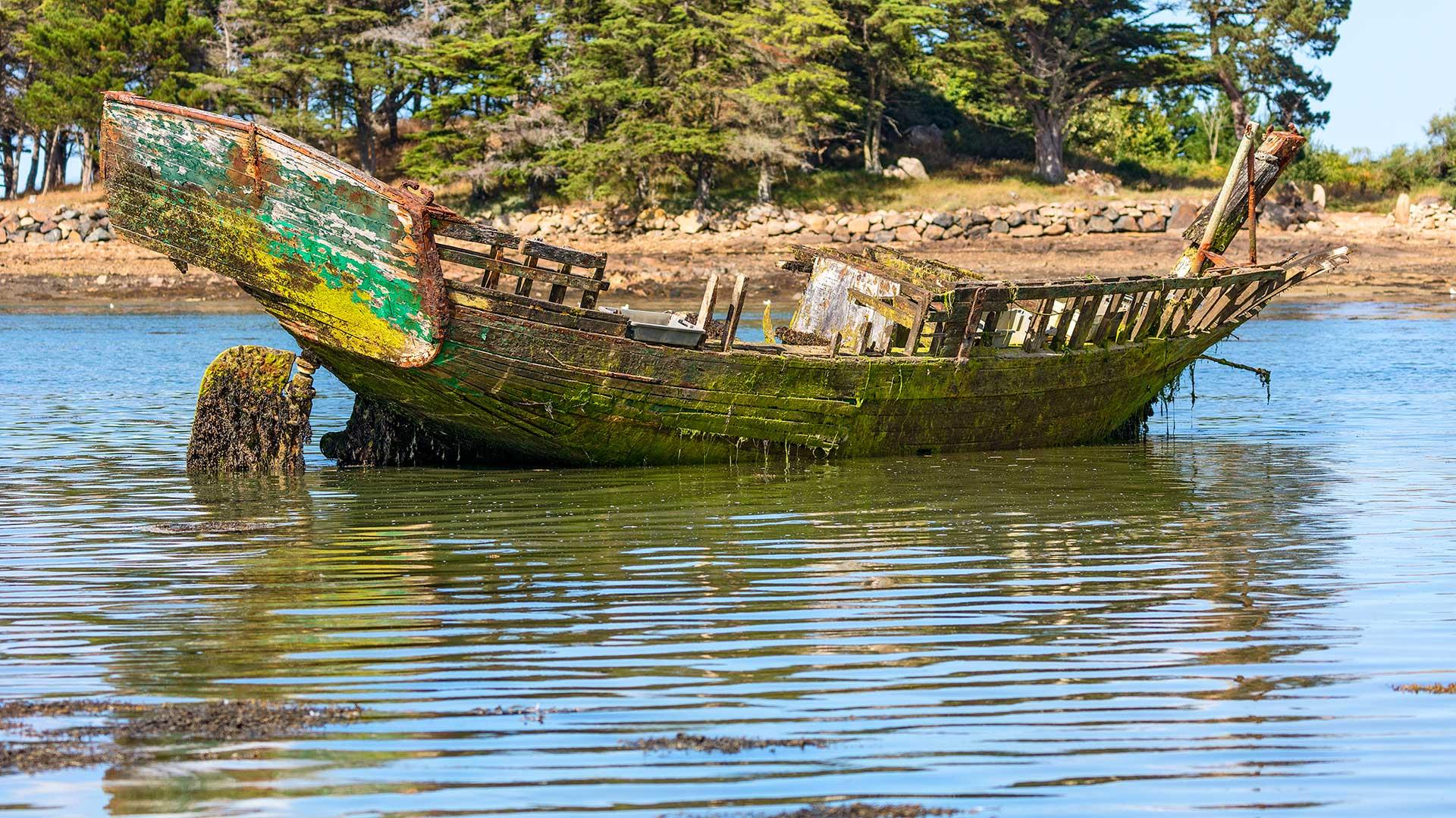 Landschaftsfotografie: Bretagne – Schiffswrack | Foto: Dieter Eikenberg, imprints