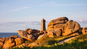 Landschaftsfotografie: Côte de Granit Rose – Küste des rosa Granits – Phare de Men Ruz | Foto: Dieter Eikenberg, imprints