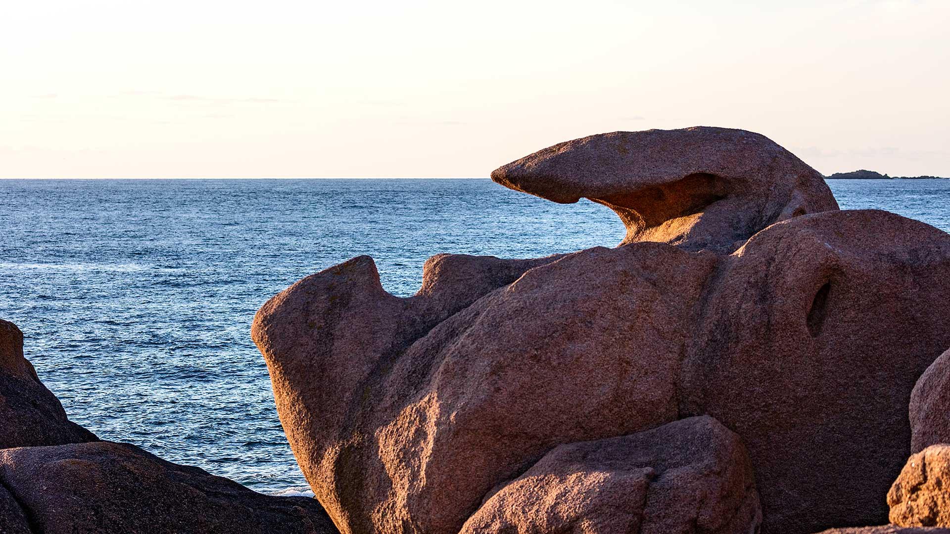Landschaftsfotografie: Côte de Granit Rose – Meer im Zangengriff | Foto: Dieter Eikenberg, imprints
