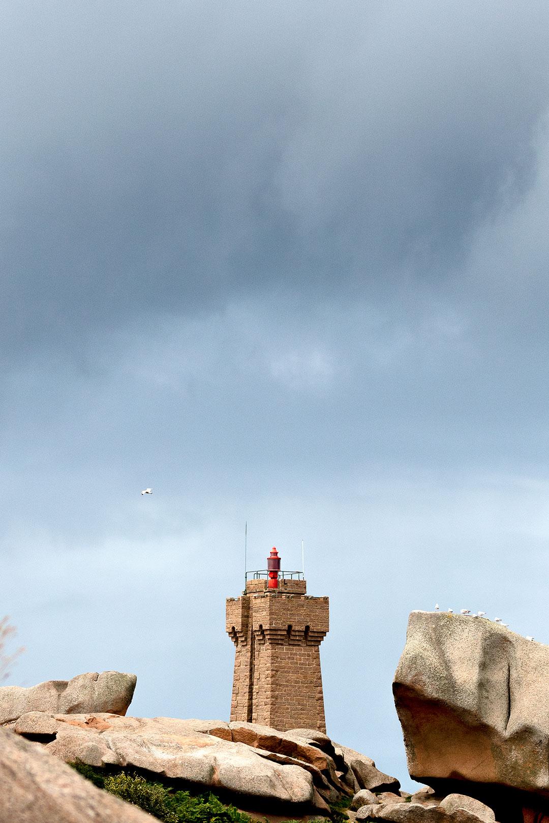 Landschaftsfotografie: Côte de Granit Rose – Phare de Men Ruz | Foto: Dieter Eikenberg, imprints