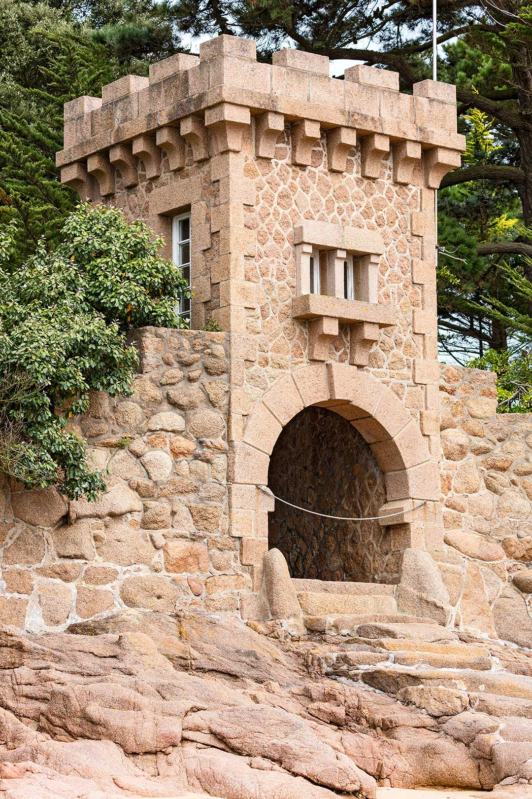 Landschaftsfotografie: Côte de Granit Rose – Schloss Costaérès | Foto: Dieter Eikenberg, imprints