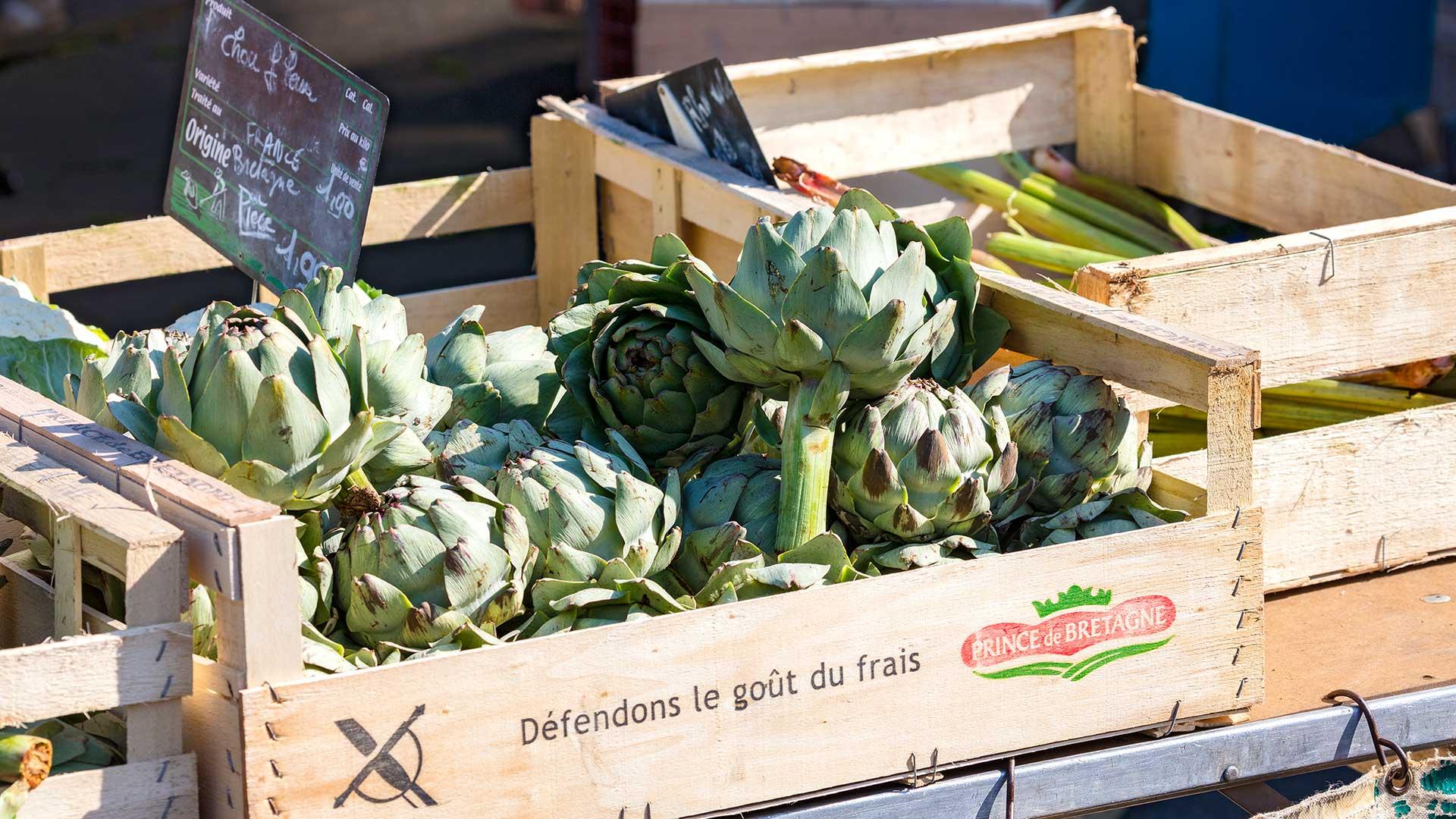 Regionalporträt: Bretagne Märkte – Bretonisches Gemüse | Foto: Dieter Eikenberg, imprints