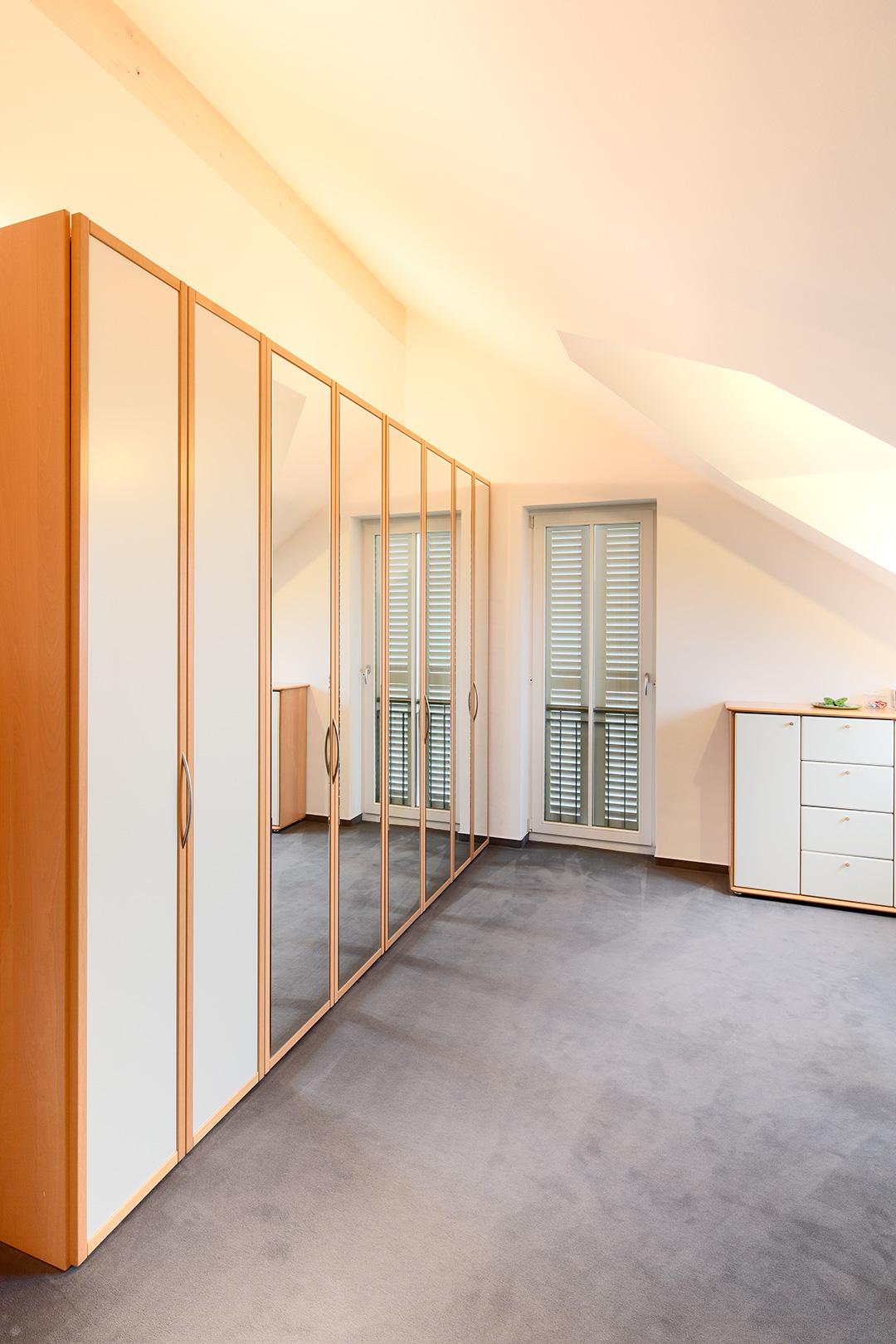 Architekturfotografie, Innenarchitektur: Ankleideraum | Foto: Dieter Eikenberg, imprints