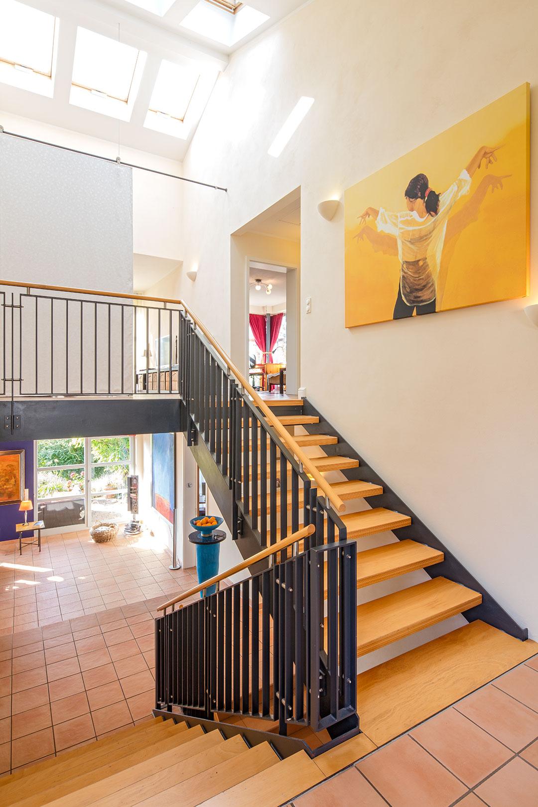 Architekturfotografie, Innenarchitektur: Treppenhaus | Foto: Dieter Eikenberg, imprints