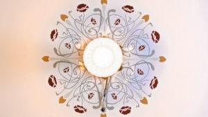 Architekturfotografie, Innenarchitektur: Deckengemälde   Foto: Dieter Eikenberg, imprints