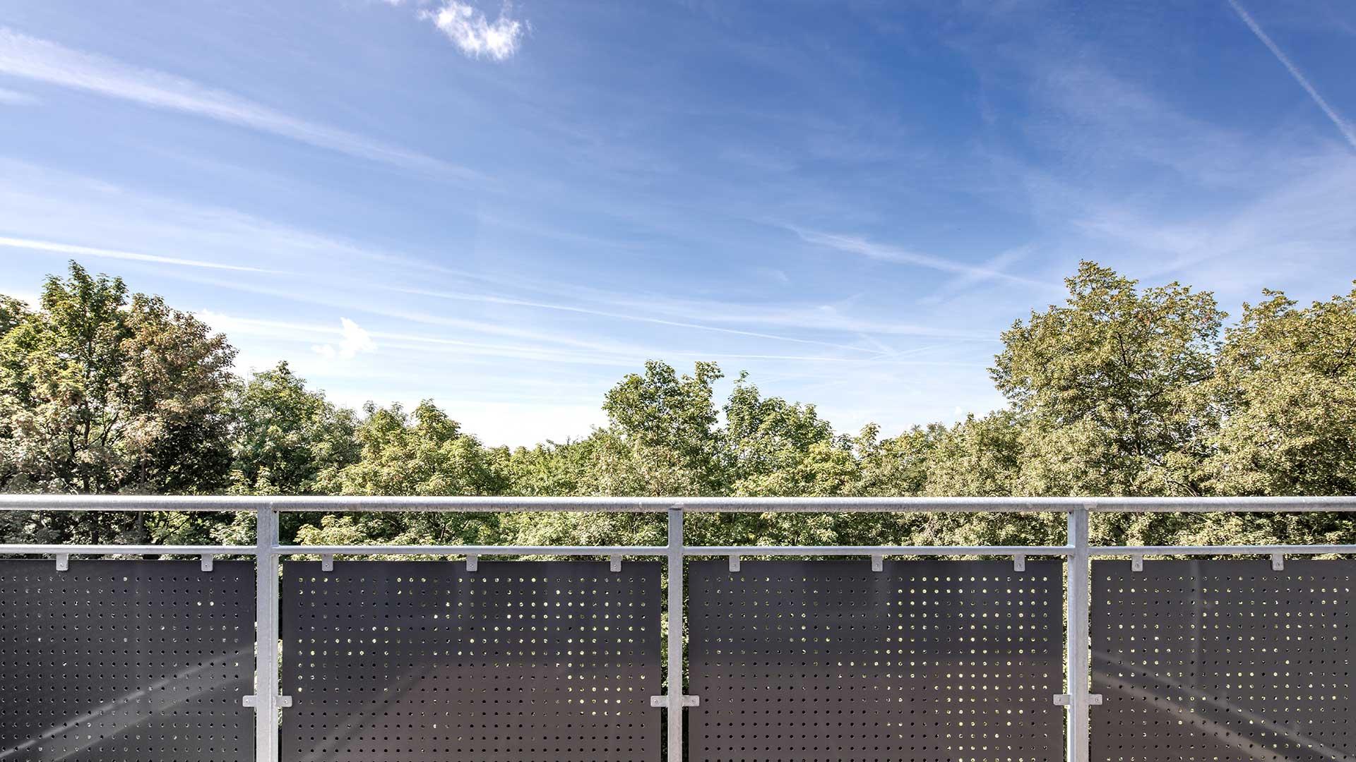 Architekturfotografie: Blick vom Balkon | Foto: Dieter Eikenberg, imprints