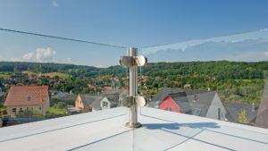 Architekturfotografie: Blick von der Terrasse   Foto: Dieter Eikenberg, imprints