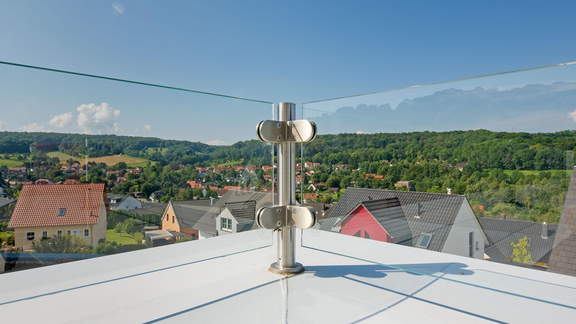 Architekturfotografie: Blick von der Terrasse | Foto: Dieter Eikenberg, imprints