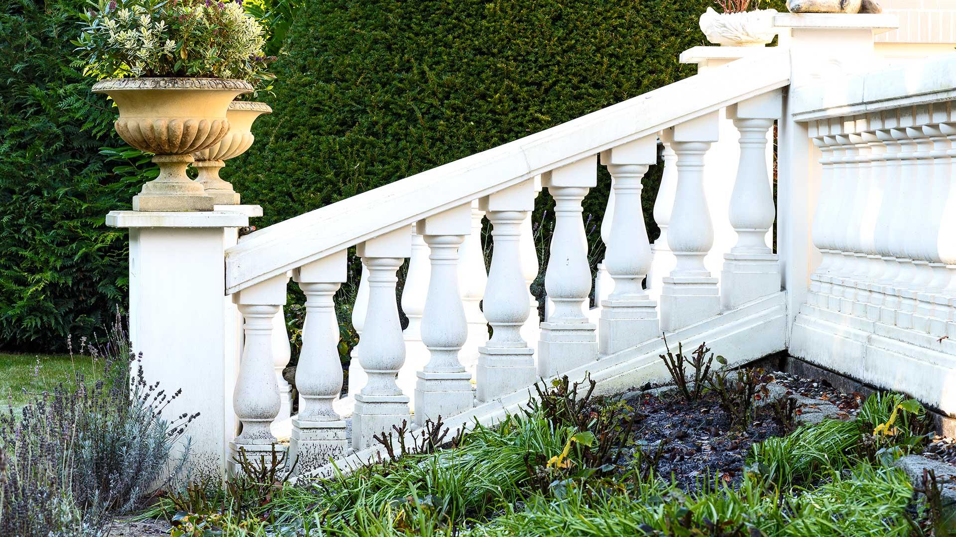 Architekturfotografie: Gartenaufgang | Foto: Dieter Eikenberg, imprints