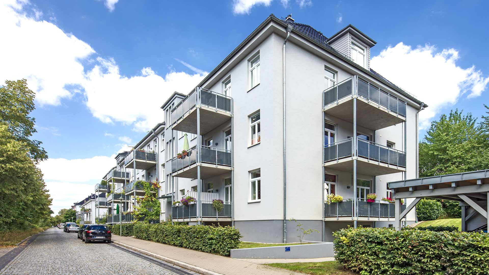 Architekturfotografie: Neubausiedlung | Foto: Dieter Eikenberg, imprints