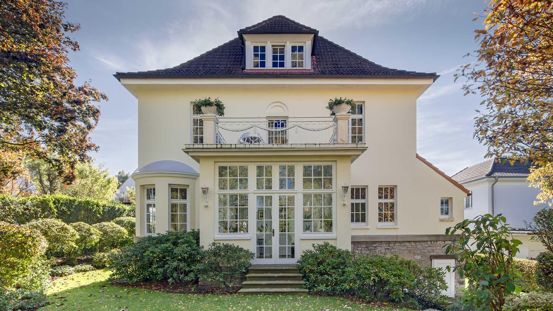 Architekturfotografie: Immobilie im Gegenlicht | Foto: Dieter Eikenberg, imprints