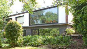 Architekturfotografie: Immobilie mit Panoramafenster   Foto: Dieter Eikenberg, imprints