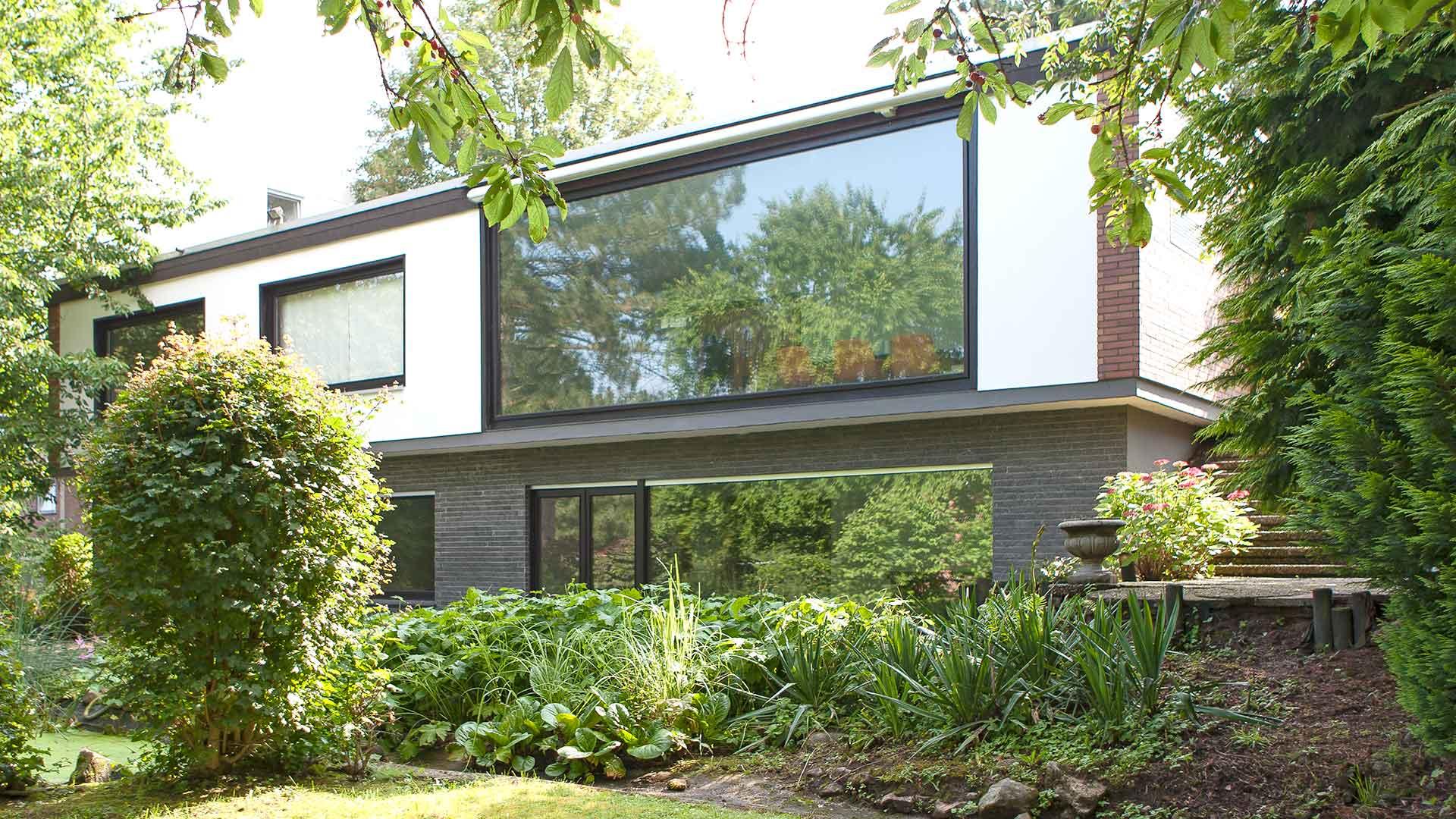 Architekturfotografie: Immobilie mit Panoramafenster | Foto: Dieter Eikenberg, imprints