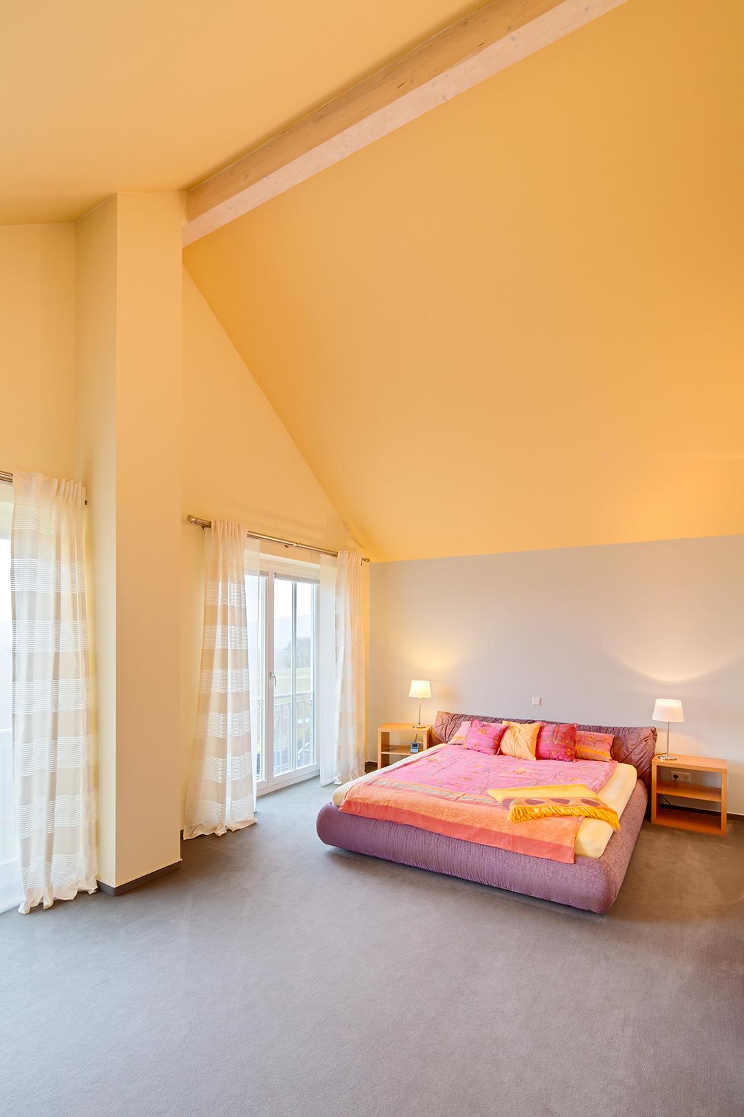 Architekturfotografie, Innenarchitektur: Schlafzimmer | Foto: Dieter Eikenberg, imprints