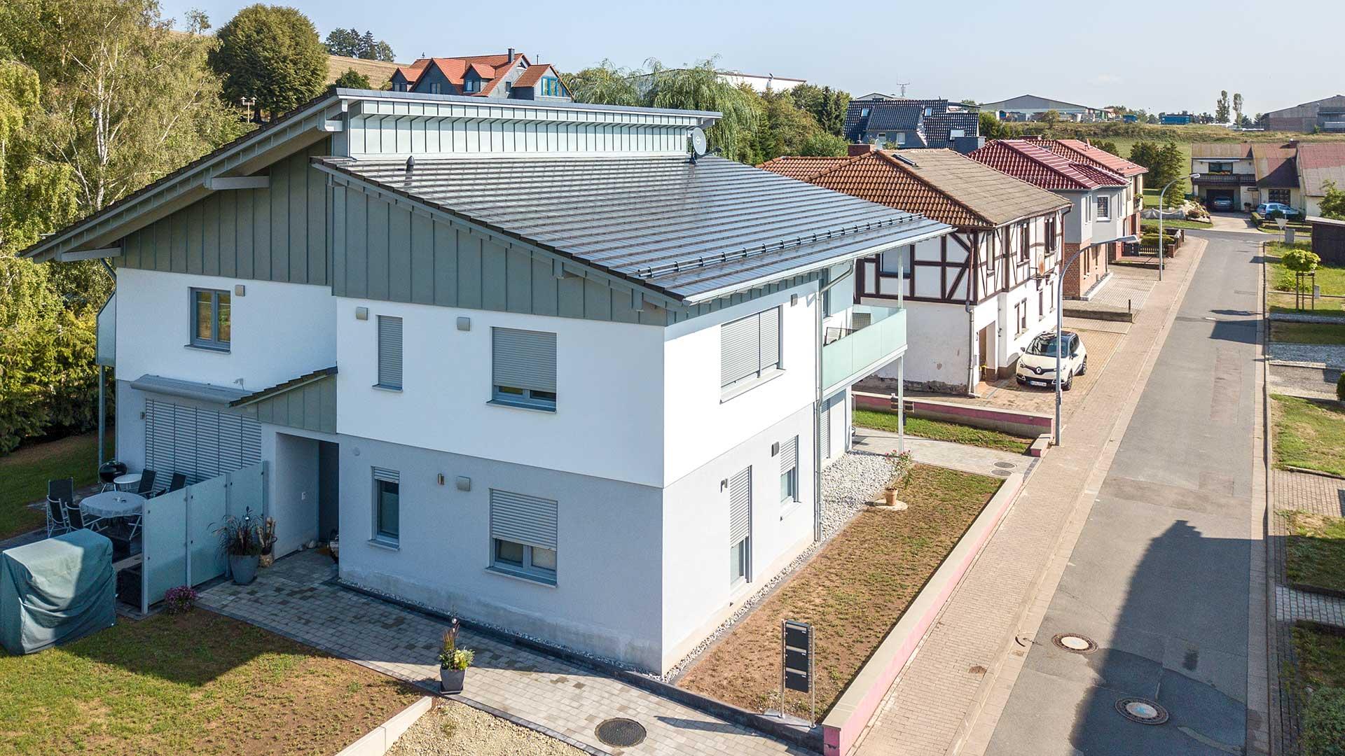 Architekturfotografie, Drohne: Luftaufnahme Siedlung | Foto: Dieter Eikenberg, imprints