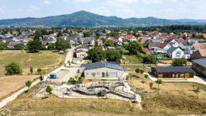 Architekturfotografie, Drohne: Luftaufnahme Siedlung   Foto: Dieter Eikenberg, imprints