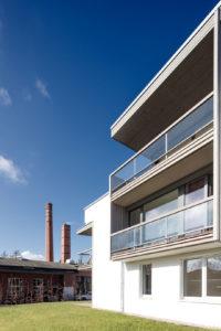 Architekturfotografie: Neubau vor historischer Kulisse   Foto: Dieter Eikenberg, imprints