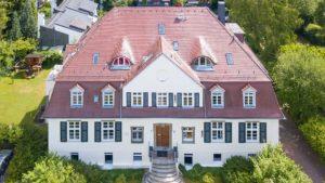 Architekturfotografie, Drohne: Villa   Foto: Dieter Eikenberg, imprints